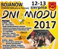 Dni Miodu w Bojanowie 2017
